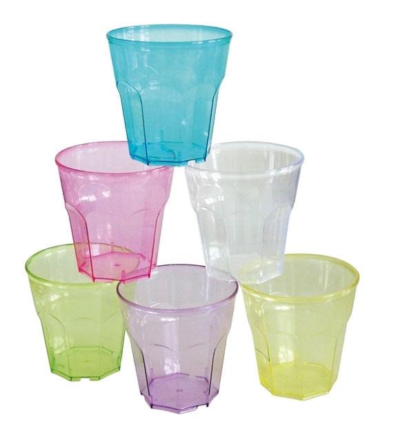 bicchieri in policarbonato