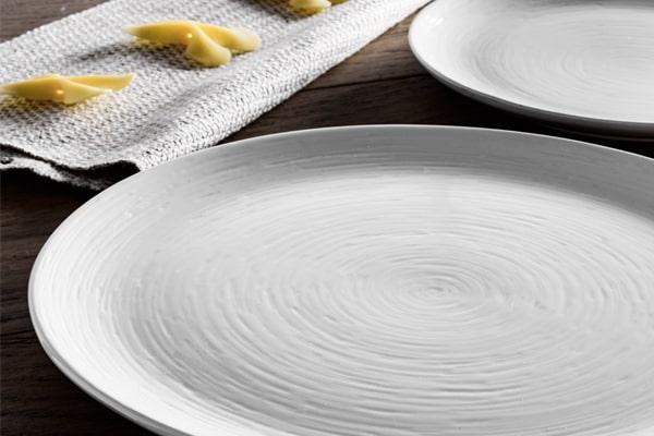 ceramiche italia piatti total white
