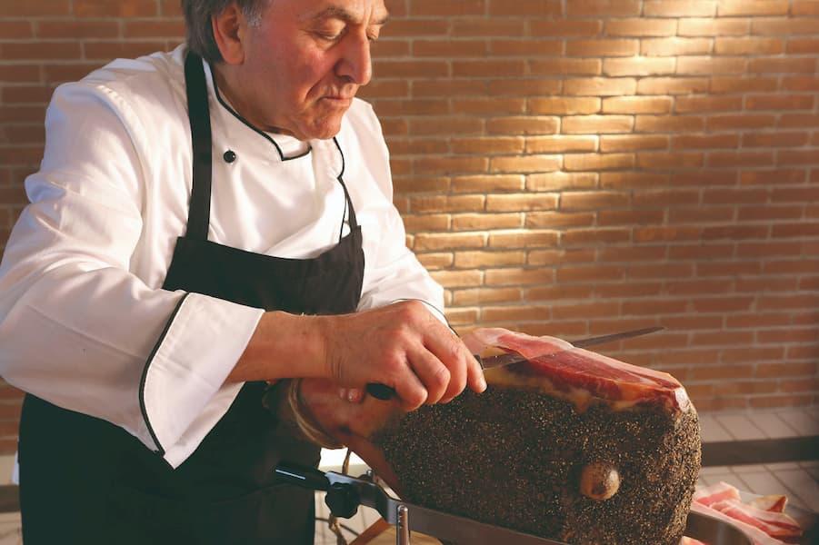 taglio a coltello, consorzio del prosciutto toscano