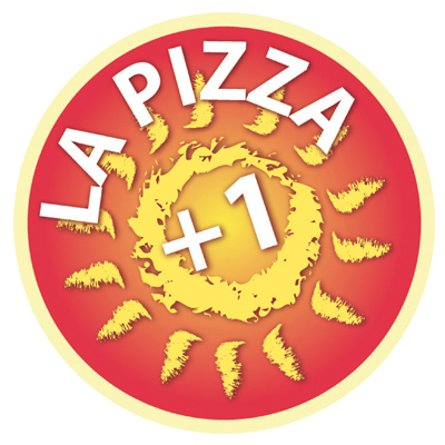 logo la pizza +1