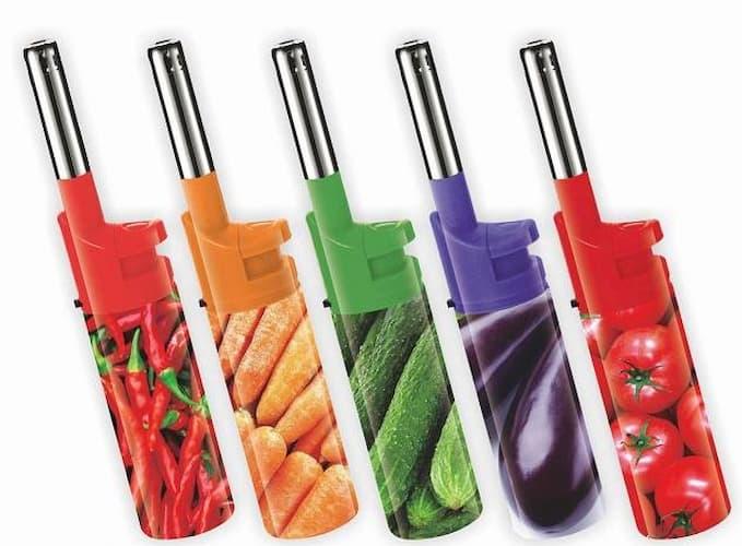 lit gas accendigas decoro verdure