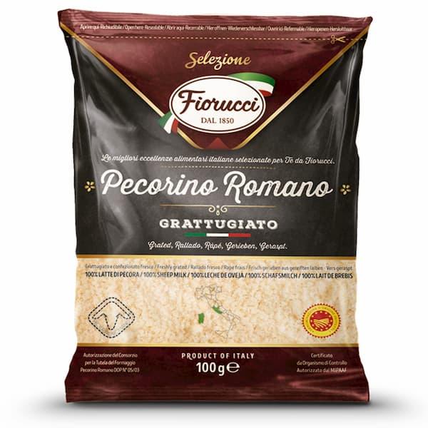 formaggio pecorino romano grattuggiato, cesare fiorucci