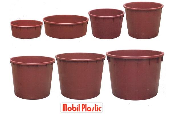 vasi in plastica, mobil plastic