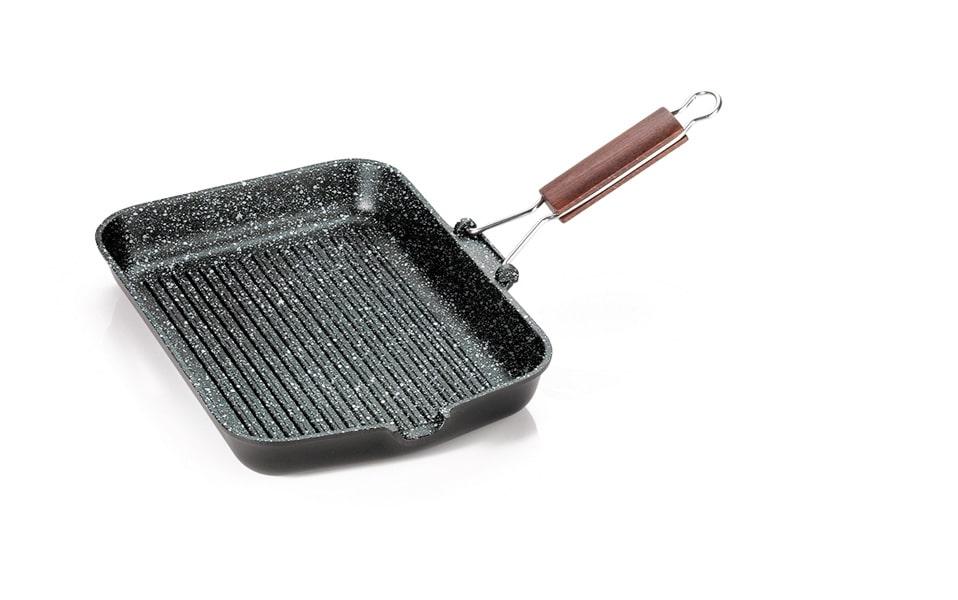 antik ars bistecchiera manico pieghevole