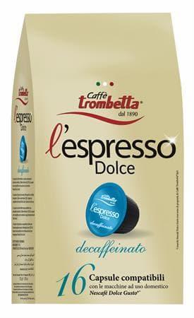 caffè decaffeinato, caffè Trombetta