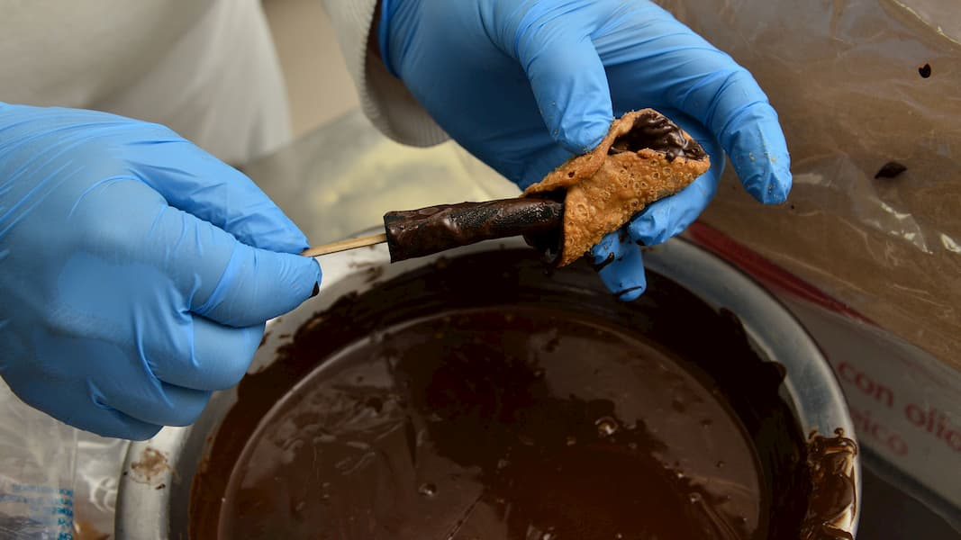 cannoli cioccolato, cremaducale gebar