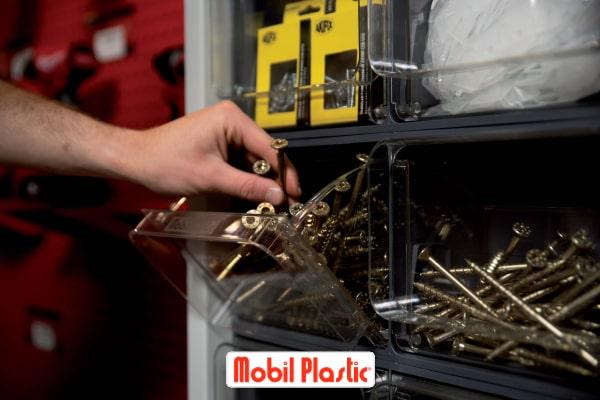 modulo per magazzinaggio, mobil plastic