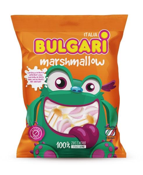 marshmallow caramelleextruded fruit juice, bulgari agostino