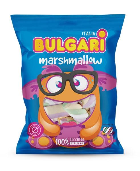 marshmallow caramelle extruded, bulgari agostino