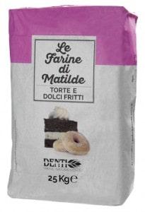 farina per torte, industria molitoria denti