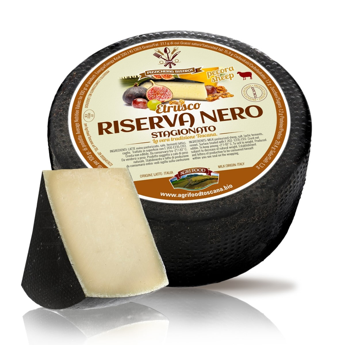 formaggio etrusco riserva, agrifood toscana