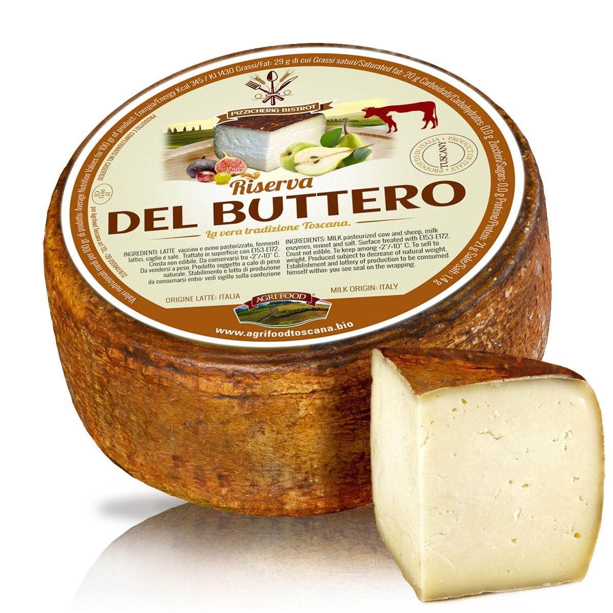 formaggio riserva de buttero, agrifood toscana