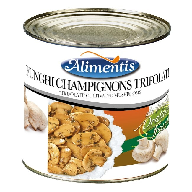 funghi champignons trifolati, alimentis