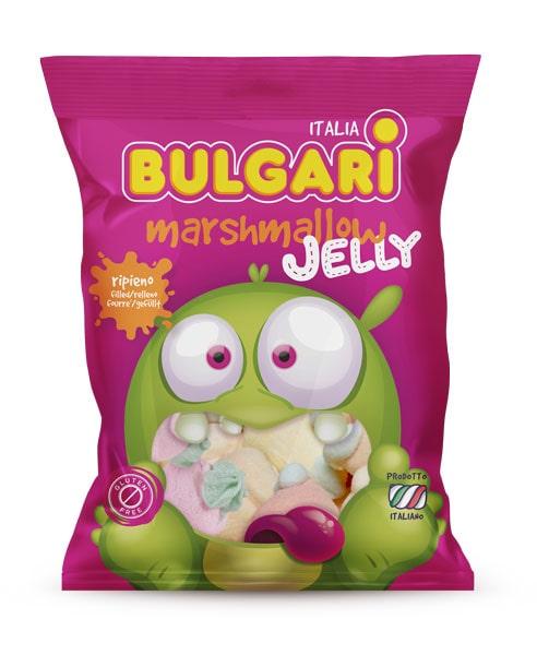 marshmallow caramelle jelly filled, bulgari agostino