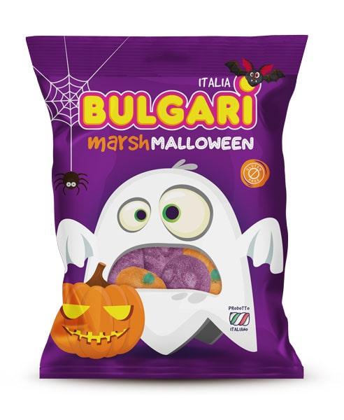 marshmallow caramelle mallowen, bulgari agostino