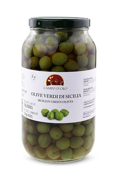 olive verdi di sicilia campodoro