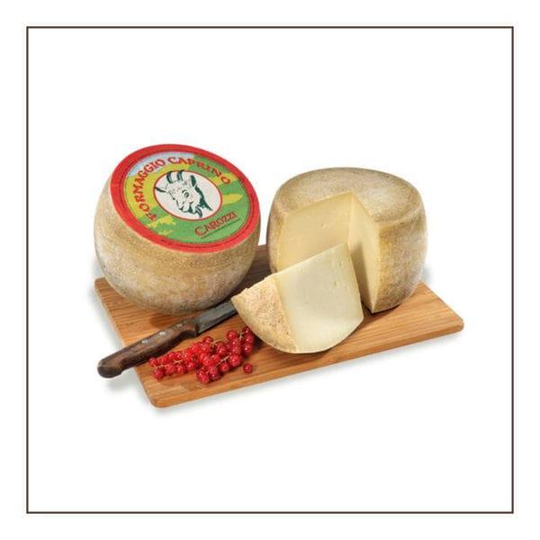 formaggio santo caprino, carozzi