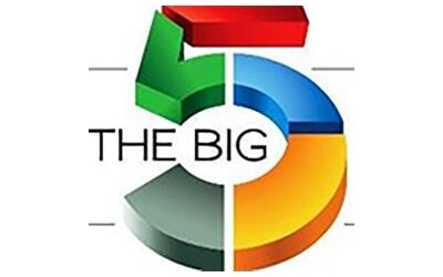 THE BIG 5 – 12 / 15 September 2021