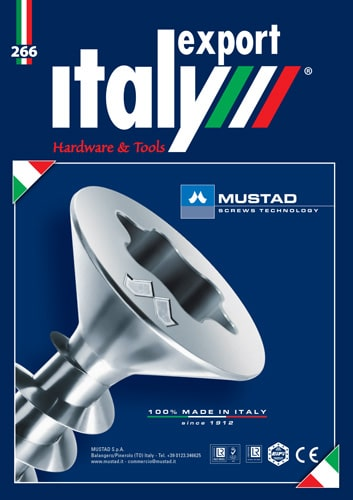 Cover Italy Export Hardware & Tools n 3 - 2020