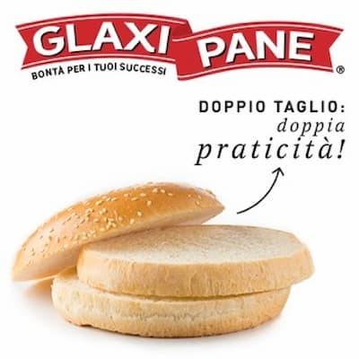 doppio taglio hamburger, Glaxi Pane