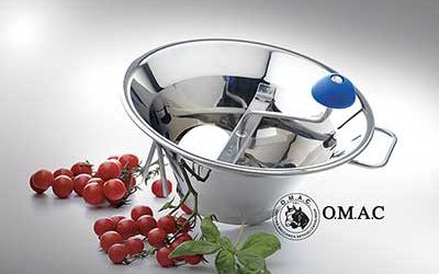 OMAC – stainless steel vegetable mills
