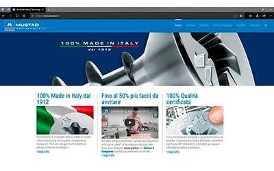 Mustad – New website screws technology