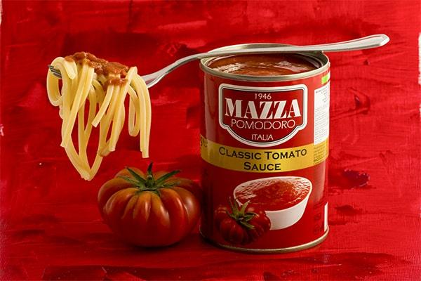 classic tomato sauce mazza alimentari