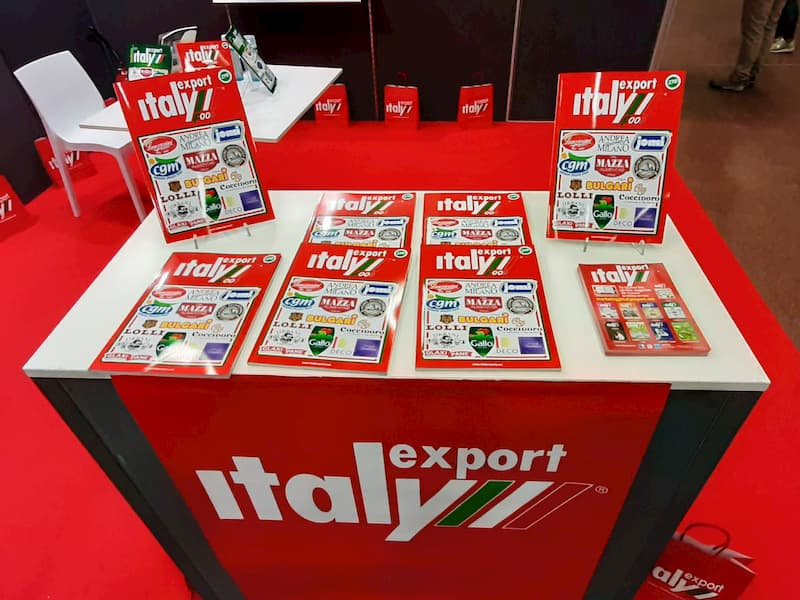 stand Italy Export al Sana 2020 Bologna