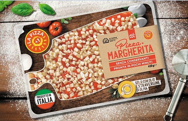pizza margherita, la pizza +1