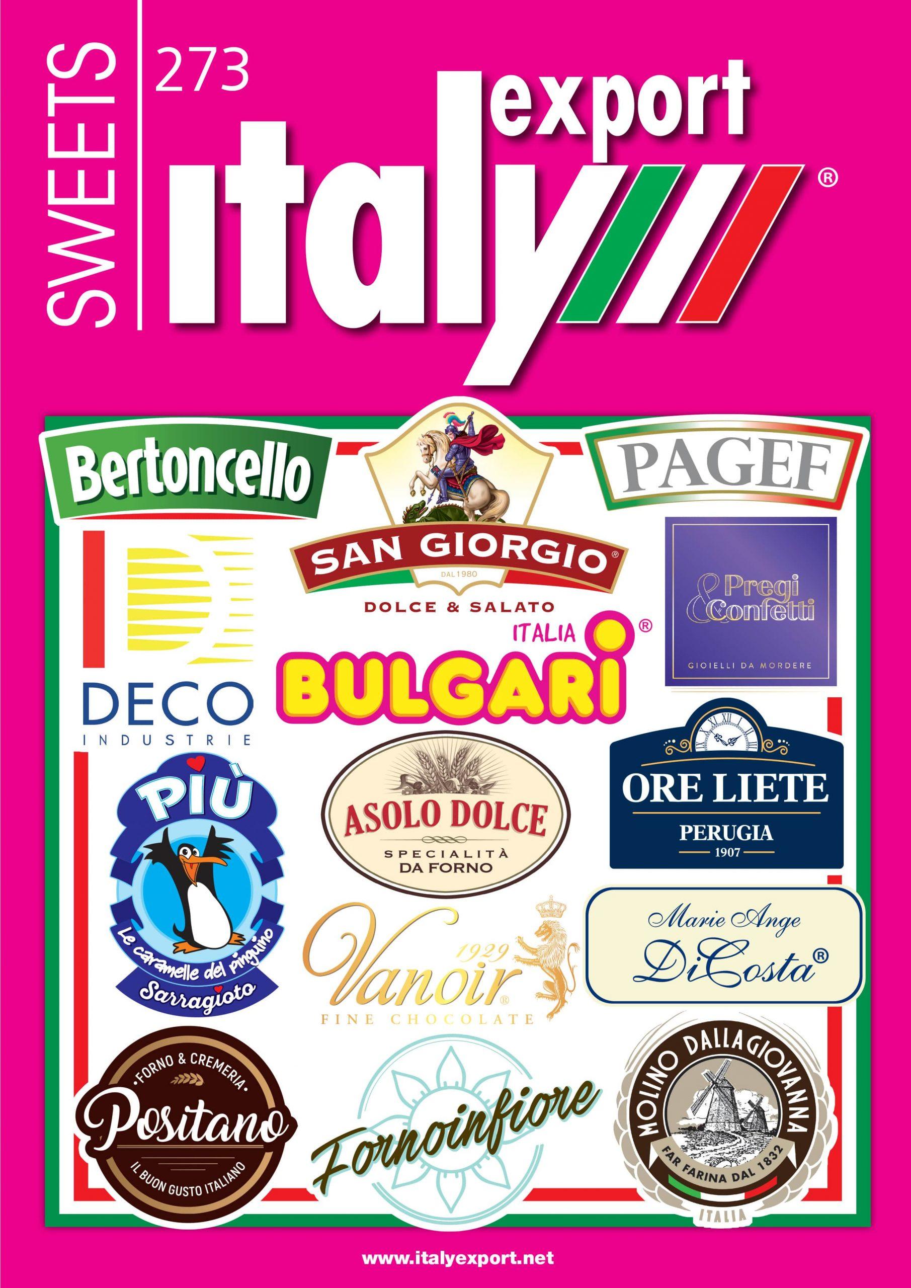 rivista, Italy Export Sweets 2021