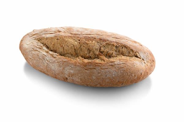 pane all'acqua con cereali, bassini forno della romagna