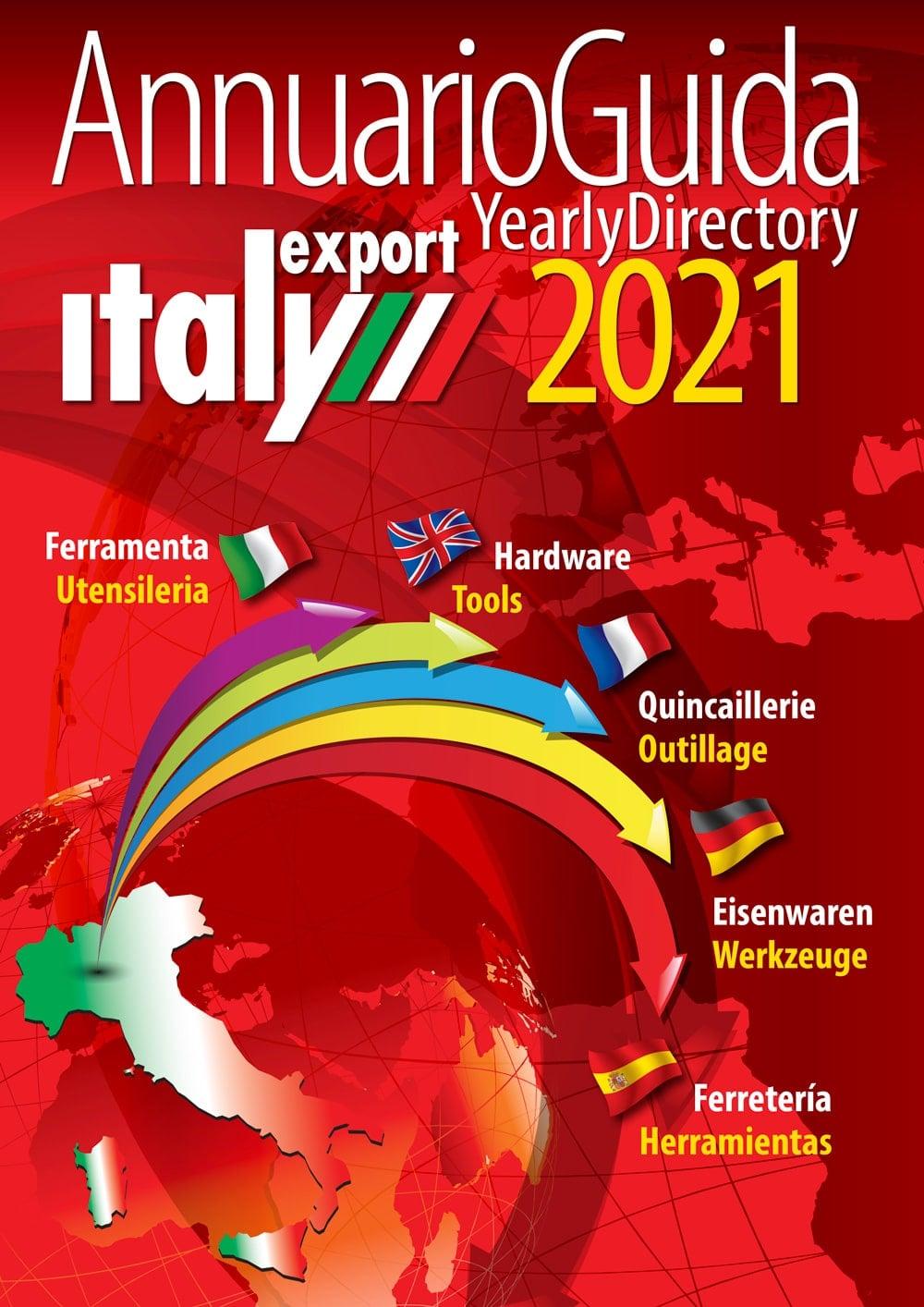 Annuario Guida 2021, Italy Export