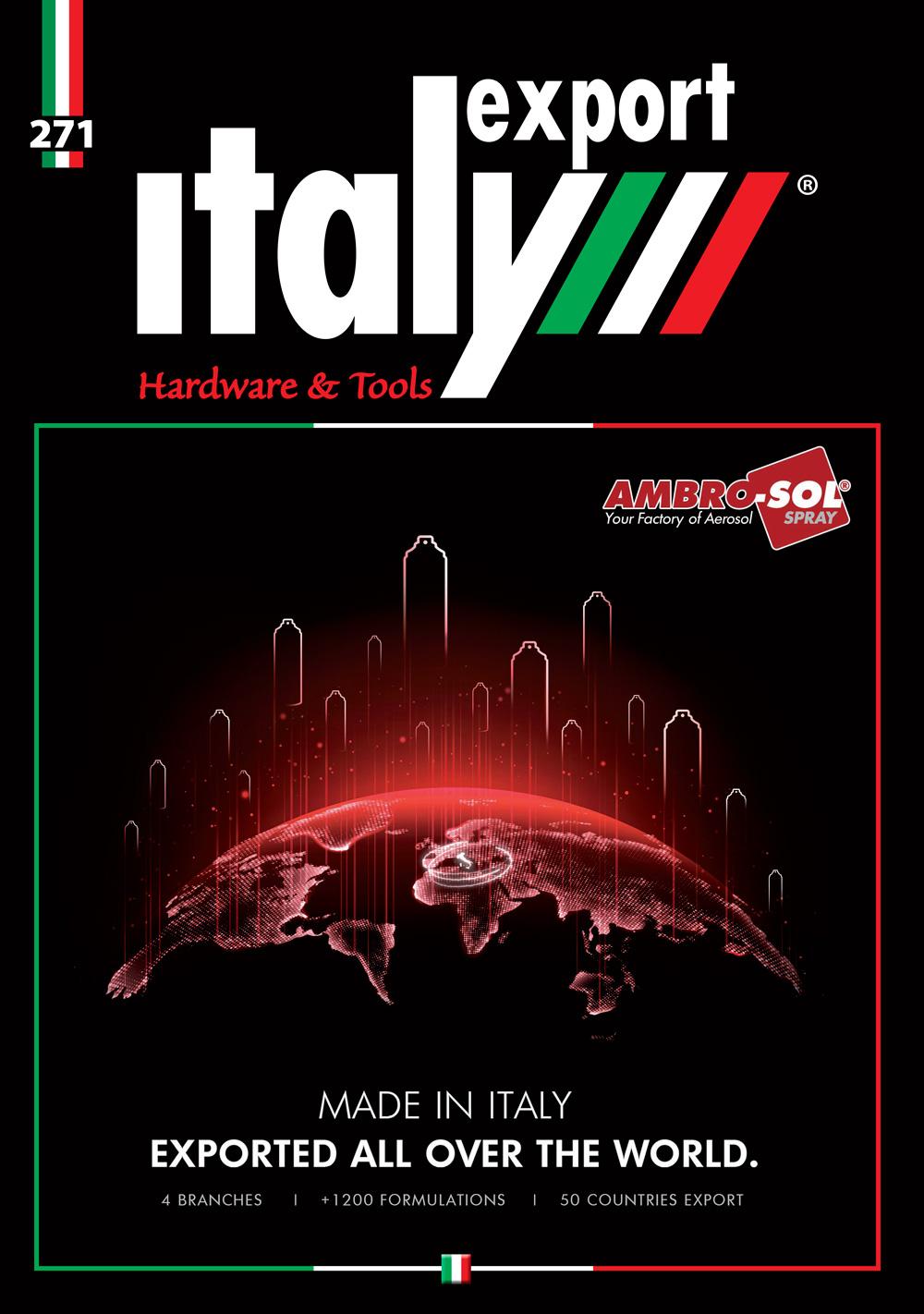 Italy Export, Ferramenta n° 1 2021