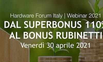 HARDWARE FORUM ITALY – webinar: tutti i bonus del dettaglio ferramenta