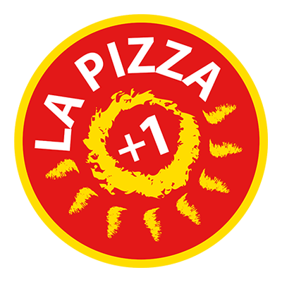 la pizza +1 logo