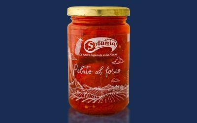 Solania – baked peeled tomatoes