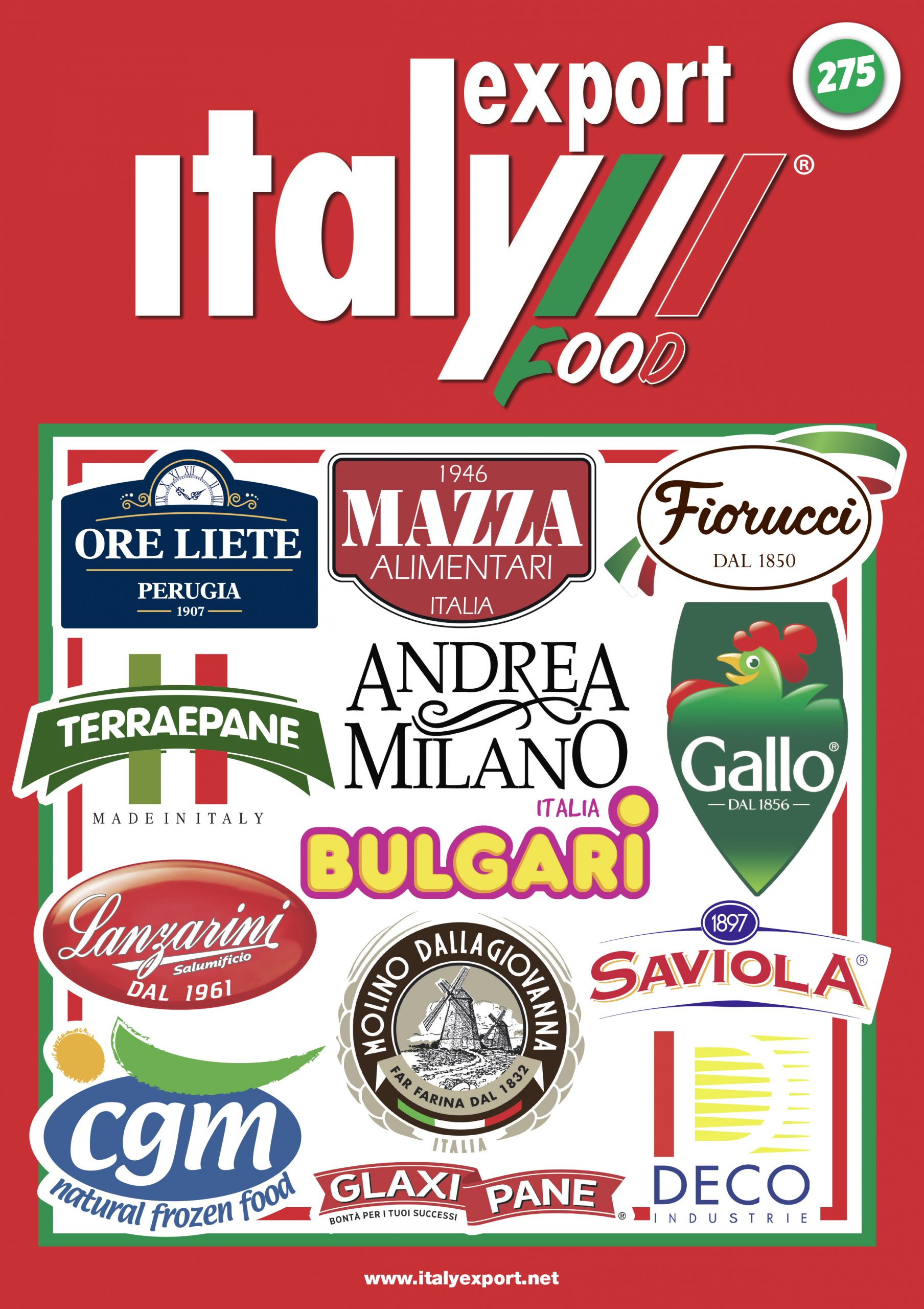 Cover magazine n.1 2021, Italy Export