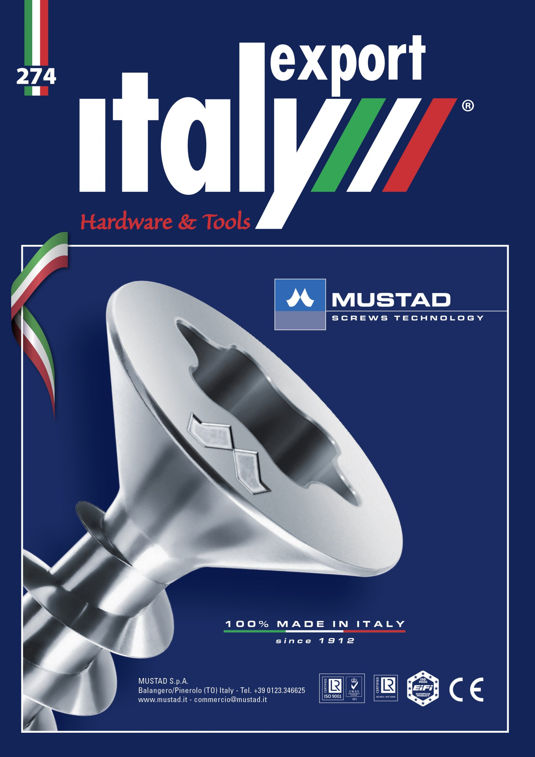 cover n. 1 magazine, Italy Export