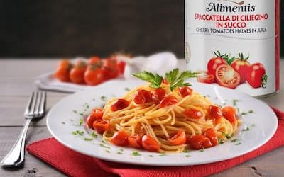 Alimentis – Cherry tomatoes halves in juice