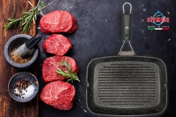 Olympia hardcook grillpan