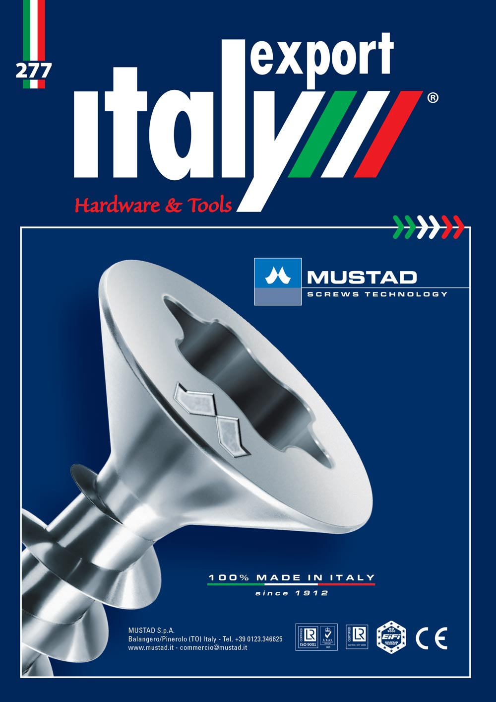 Cover, Italy Export hardware 3 2021