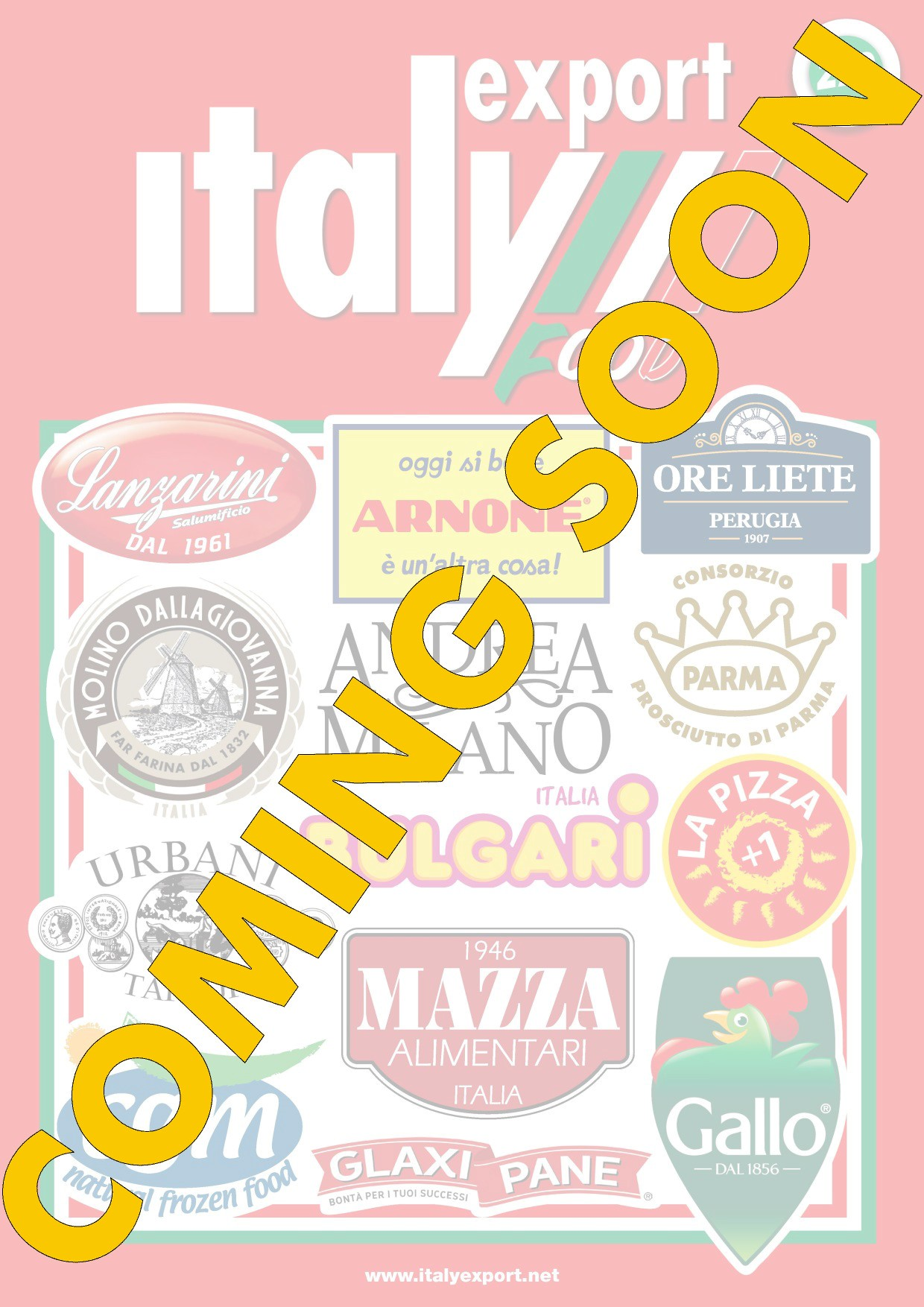 Copertina Italy Export Coming Soon